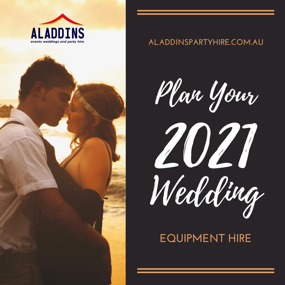 Aladdins Start Planning Your 2021 Wedding!