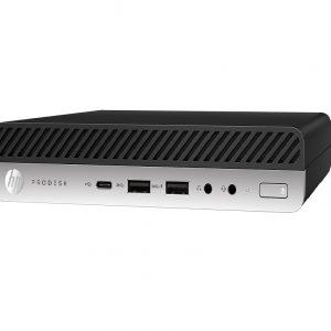 HP Prodesk 600 G5 DM i5, 8G, 256GB SSD, W10P, 3Yr