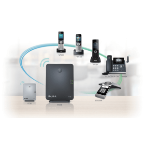Yealink W60P – Wireless Dect Solution Including W60B Base Station And 1 X W56H Handset W60P